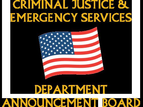 CJES Announcements