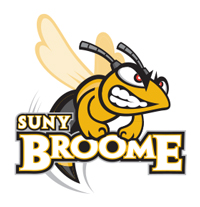SUNY Broome's secondary and more casual-looking logo design